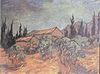 Van Gogh - Hütten zwischen Olivenbäumen und Zypressen.jpeg