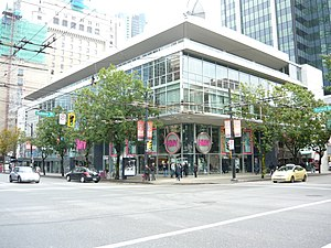 Vancouver Public Library - Former library on Burrard Street