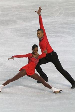 Yannick Bonheur - James and Bonheur at the 2010 Europeans