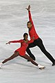 Vanessa James and Yannick Bonheur at 2010 European Championships.jpg