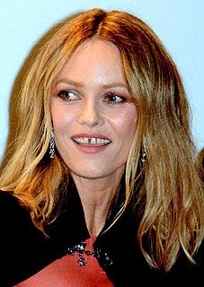 Vanessa Paradis French singer, model and actress