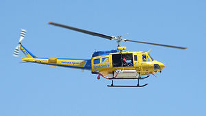 Bell UH-1 Iroquois - Ventura County Sheriff's Department Air Unit Fire Support Bell HH-1H