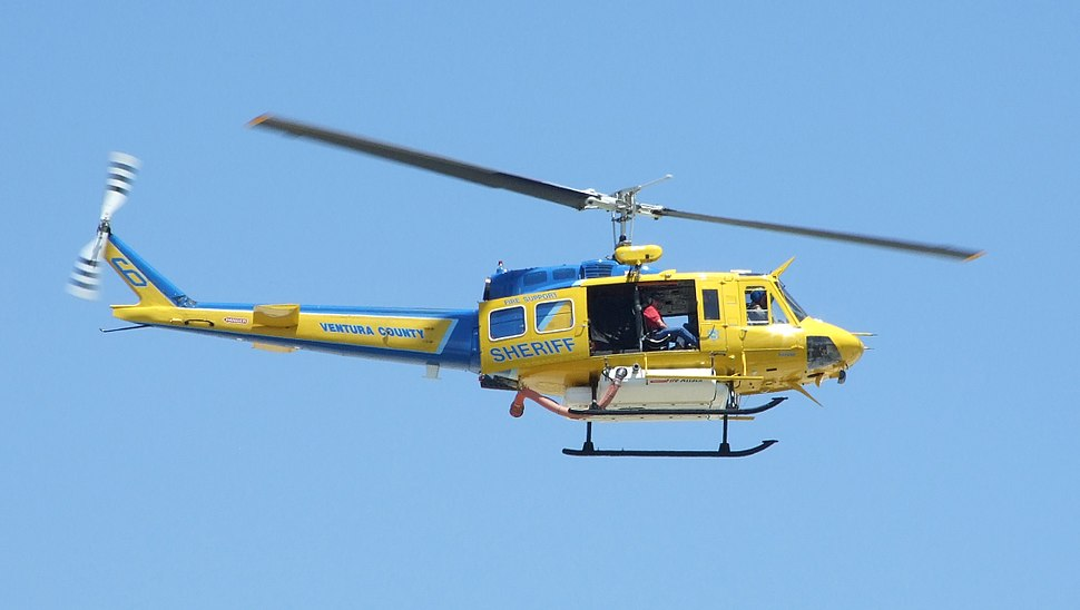 """Ventura County Sheriff Bell HH-1H (205) """"N205SD"""""""