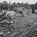 Vernielde kazerne tussen Bult van Ketjen en het s-Gravenhof, Bestanddeelnr 900-5233.jpg