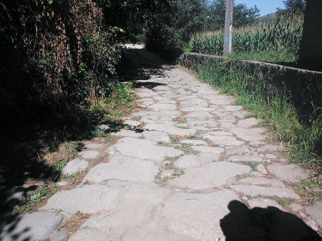 Via romana desde Portugal