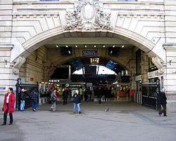 Victoria stasjon, London