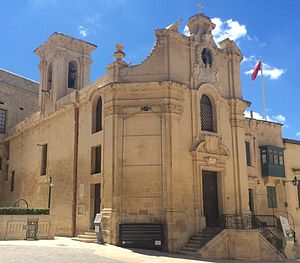 Church of Our Lady of Victories, Valletta - Image: Victoria Church, Valletta