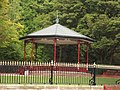 Victoria Park - National Tramway Museum - Crich - band stand (15176115108).jpg