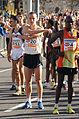 Vienna 2013-04-14 Vienna City Marathon - 51 Daniele Caimmi, ITA, 20 Valerijs Zolnerovics, LTU, 3 Gilbert Yegon, KEN, 46 Patrick Kimeli, KEN.jpg