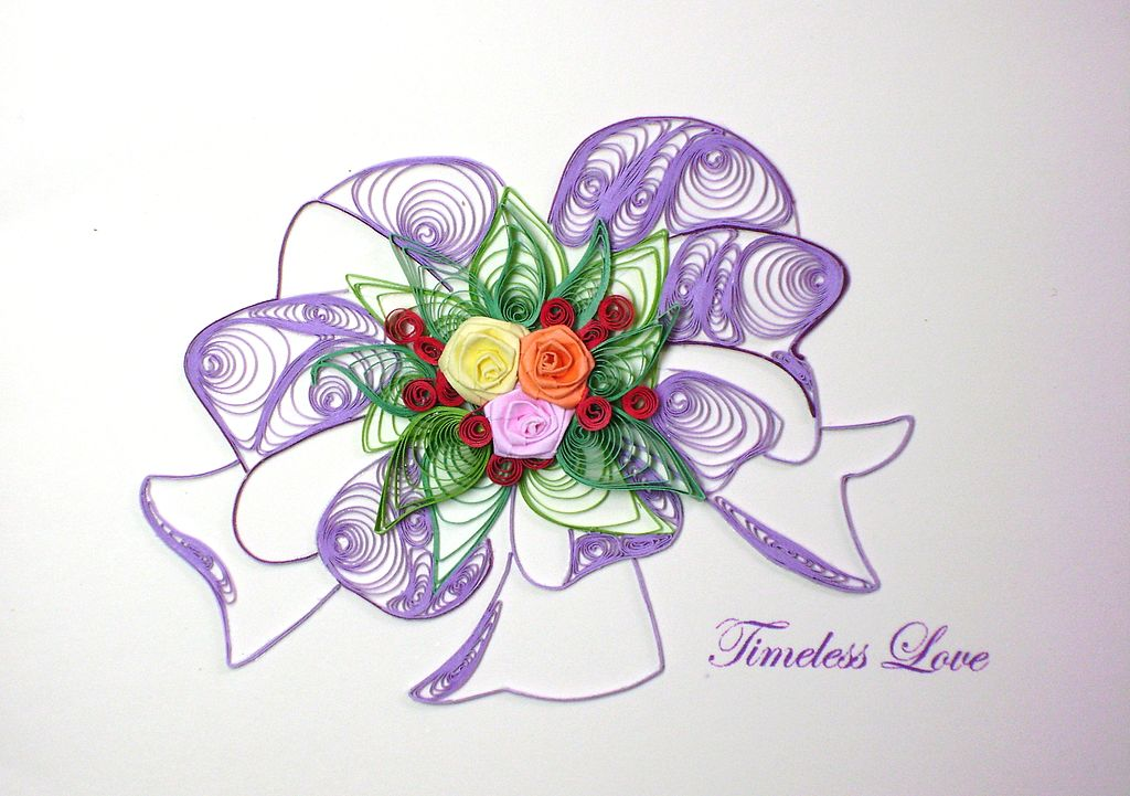 paper quilling history Paper quilling is an art form believed to have evolved over many centuries once  known as 'paper filigree', the term 'quilling' was derived from.