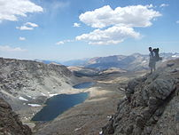 View from Forester Pass