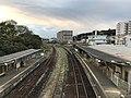 View from overpass of Futajima Station (west).jpg