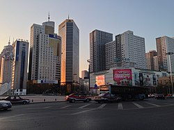 View of Anshan on Shengli Plaza.jpg