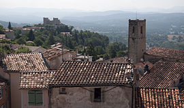A general view of Fayence