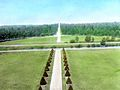 View of drive from roof, Chambord (5242089993).jpg