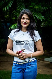 Vijayalakshmi Agathiyan at Chennai 600028 – 2 Press Meet.jpg