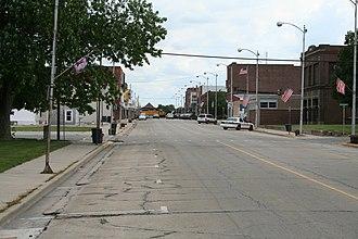 Villa Grove, Illinois - Image: Villa Grove Illinois Main Street