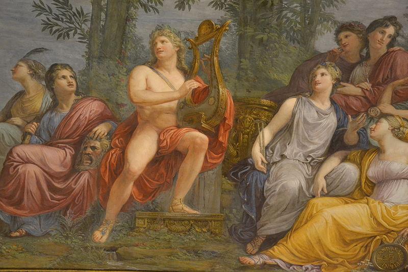 File:Villa reale, Milano - Andrea Appiani (1754–1817), il Parnaso, Apollo e le Muse (Carlo Dell'Orto) 19.JPG
