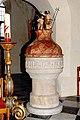 Villach Maria Gail Pfarrkirche Zu Unserer Lieben Frau Taufbecken 12012008 9168.jpg