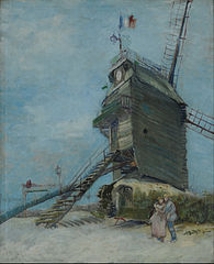 Le Moulin de la Galette (Museo Nacional de Bellas Artes)