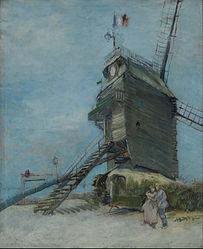 Vincent van Gogh: Le Moulin de la Galette (Museo Nacional de Bellas Artes)