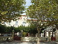 Vingrau - Mairie et école.JPG