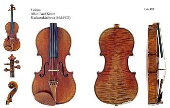 Violino - detalhes