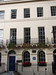 Virginia woolf wikipedia photo of 29 fitzroy square virginias home from 1907 to 1910 fandeluxe Gallery