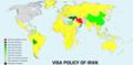 Visa policy of Iran.png