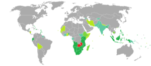 Visa requirements for Zambian citizens - Image: Visa requirements for Zambian citizens
