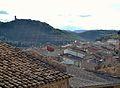Vista d'Algímia d'Almonesir i el castell d'Almonesir.JPG