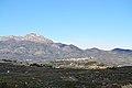 Vista del Benicadell i Beniarrés des de Benialfaquí.JPG