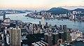 Vista del Puerto de Victoria desde Sky100, Hong Kong, 2013-08-09, DD 03.JPG