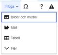 VisualEditor Media Insert Menu-sv.png