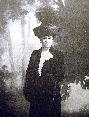 Sergei Witte - Mathilda Witte, picture by Karl Bulla