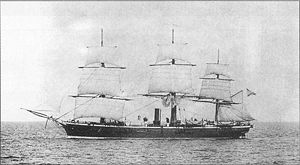 Vitiaz Strait - Imperial Russian corvette Vitiaz, namesake of the strait
