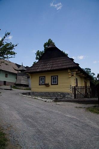 Vlkolínec - Image: Vlkolínec, Slovakia 018