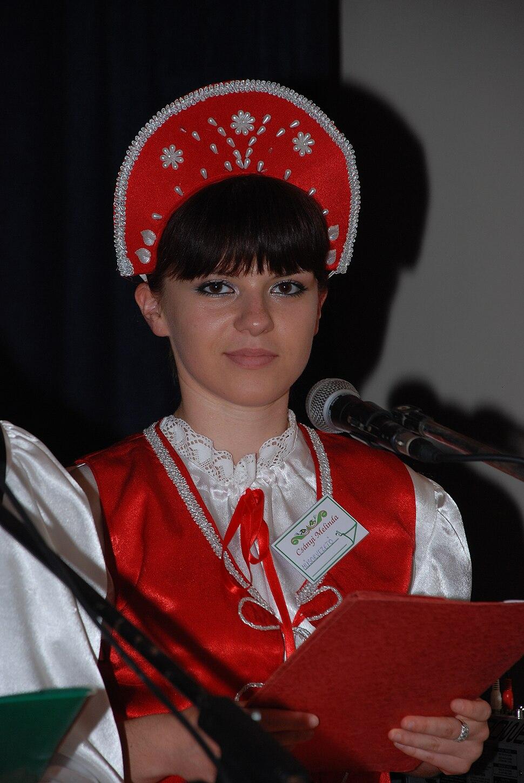 Voditeljka programa Canji Melinda