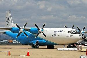 Volare Antonov An-12 CBR Gilbert.jpg