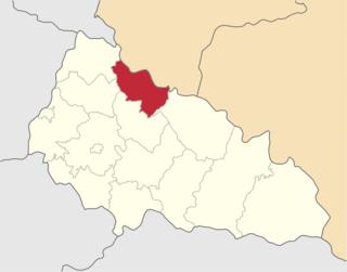 Volovets Raion Raion in Zakarpattia Oblast, Ukraine