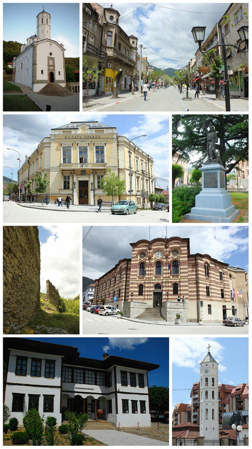 Vranje collage