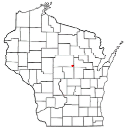 Location of Franzen, Wisconsin