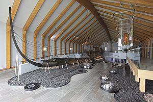 Hedeby Viking Museum - Vikingemuseuts longship.