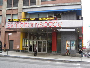 New York Gilbert and Sullivan Players - Symphony Space, the company's home from 1978 to 2001 and occasionally thereafter