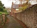 Wall on Church Hill, Halse - geograph.org.uk - 1594645.jpg
