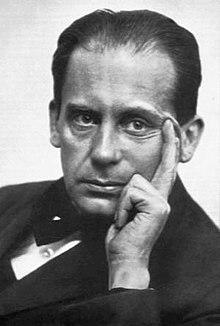 Βάλτερ Γκρόπιους (1920). Φωτογραφία του Louis Held