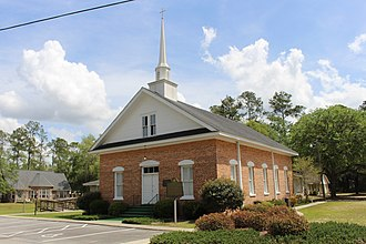 Walthourville, Georgia - Image: Walthourville Baptist Church
