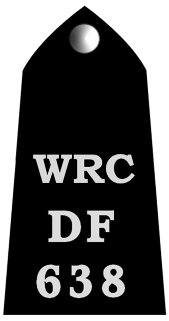 War reserve constable - Example of a WRC uniform epaulette