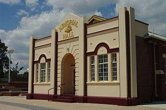 Waroona, Western Australia - Waroona Memorial Hall