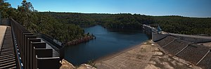 Warragamba Dam - Image: Warragamba Dam NSW